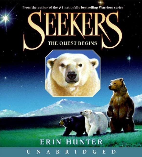 Seekers #1: The Quest Begins - Audiobook (Książka audio MP3) do pobrania w całości w archiwum ZIP