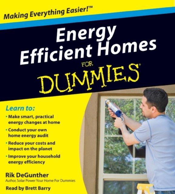 Energy Efficient Homes for Dummies - Audiobook (Książka audio MP3) do pobrania w całości w archiwum ZIP