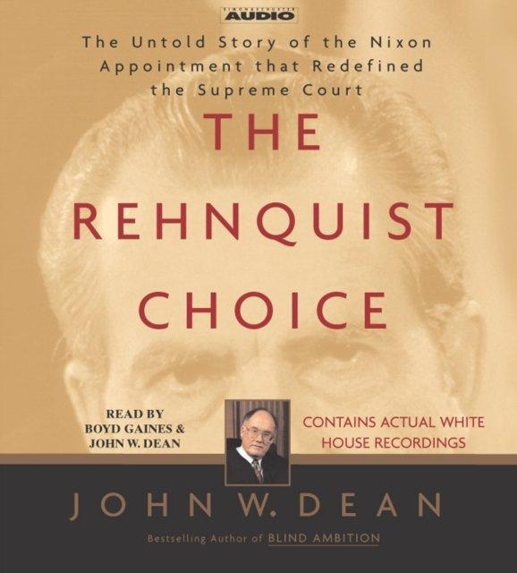 Rehnquist Choice - Audiobook (Książka audio MP3) do pobrania w całości w archiwum ZIP