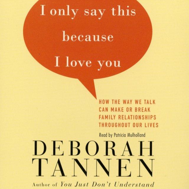 I Only Say This Because I Love You - Audiobook (Książka audio MP3) do pobrania w całości w archiwum ZIP