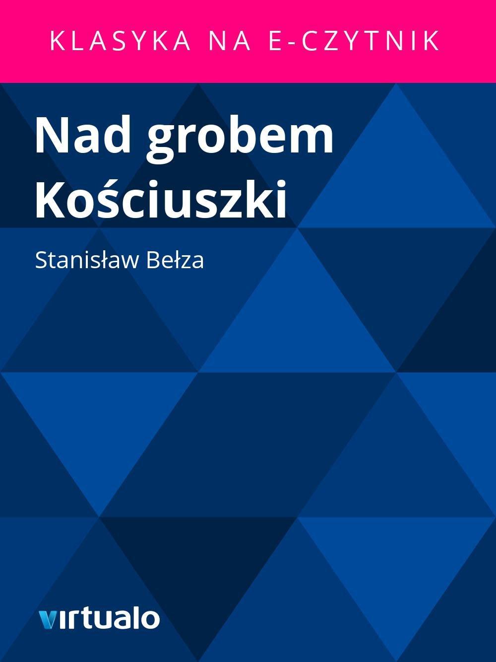 Nad grobem Kościuszki - Ebook (Książka EPUB) do pobrania w formacie EPUB
