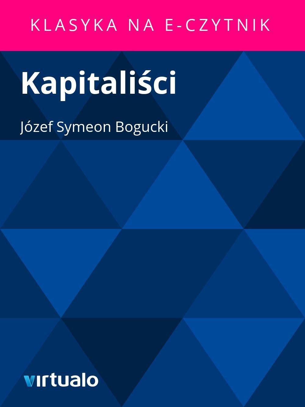 Kapitaliści - Ebook (Książka EPUB) do pobrania w formacie EPUB