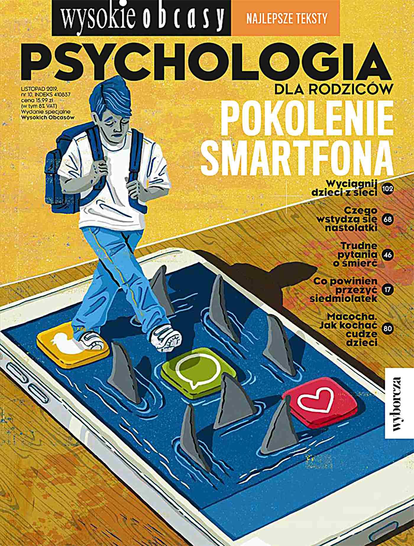 Psychologia dla rodziców 10/2019. Wysokie Obcasy. Wydanie specjalne - Ebook (Książka PDF) do pobrania w formacie PDF