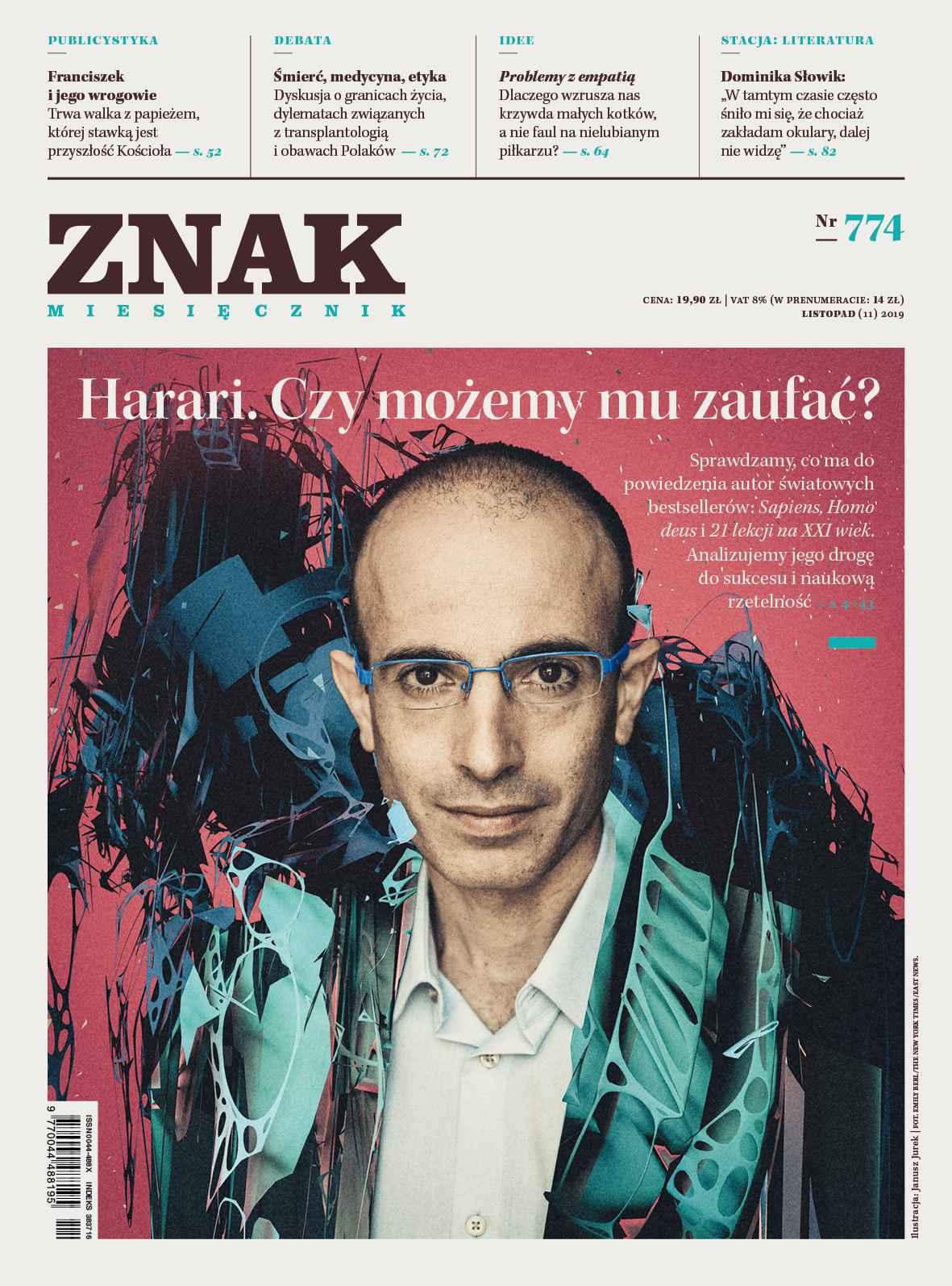 Miesięcznik Znak nr 774: Harari. Czy możemy mu zaufać? - Ebook (Książka na Kindle) do pobrania w formacie MOBI