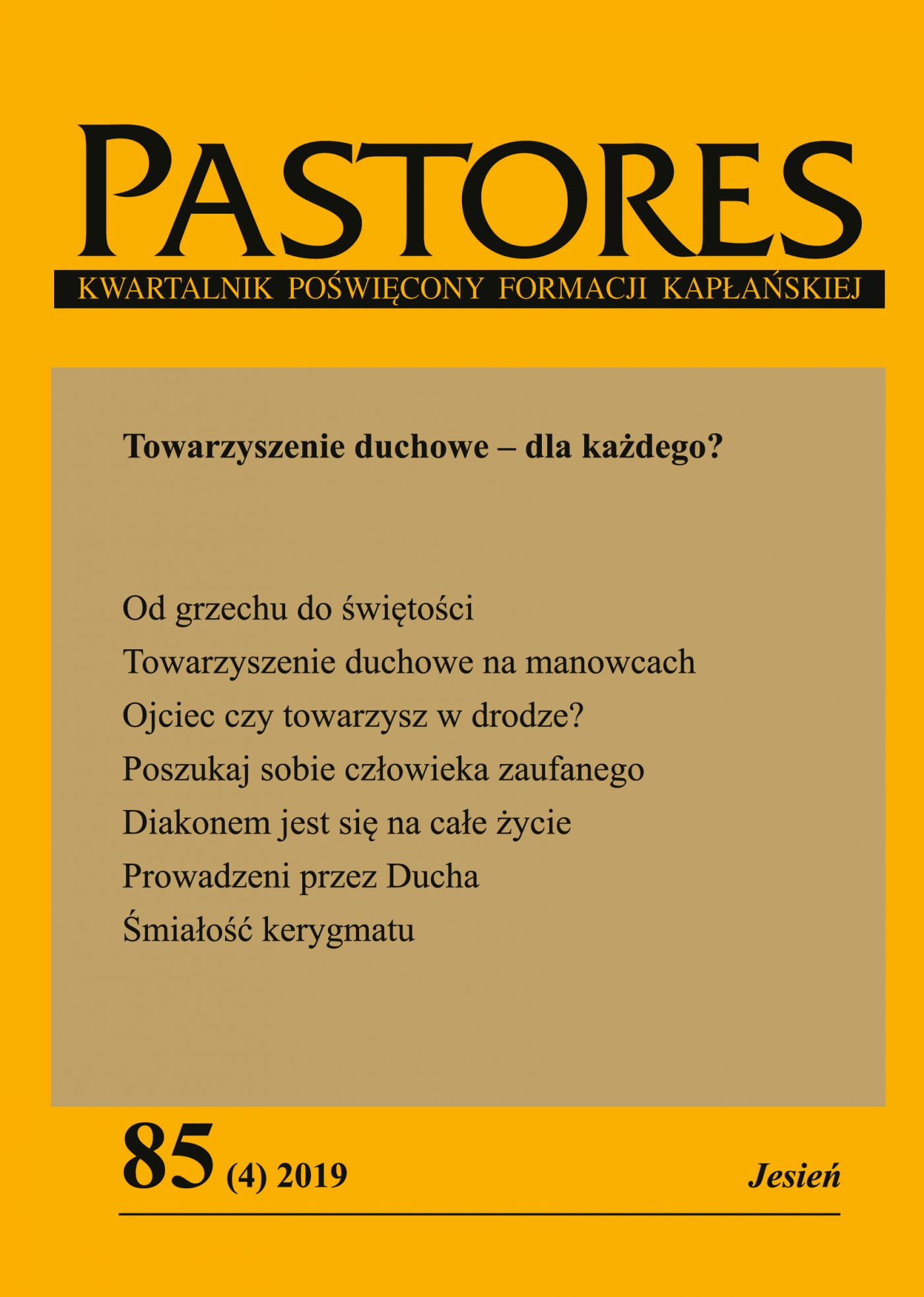 Pastores 85 (4) 2019 - Ebook (Książka EPUB) do pobrania w formacie EPUB