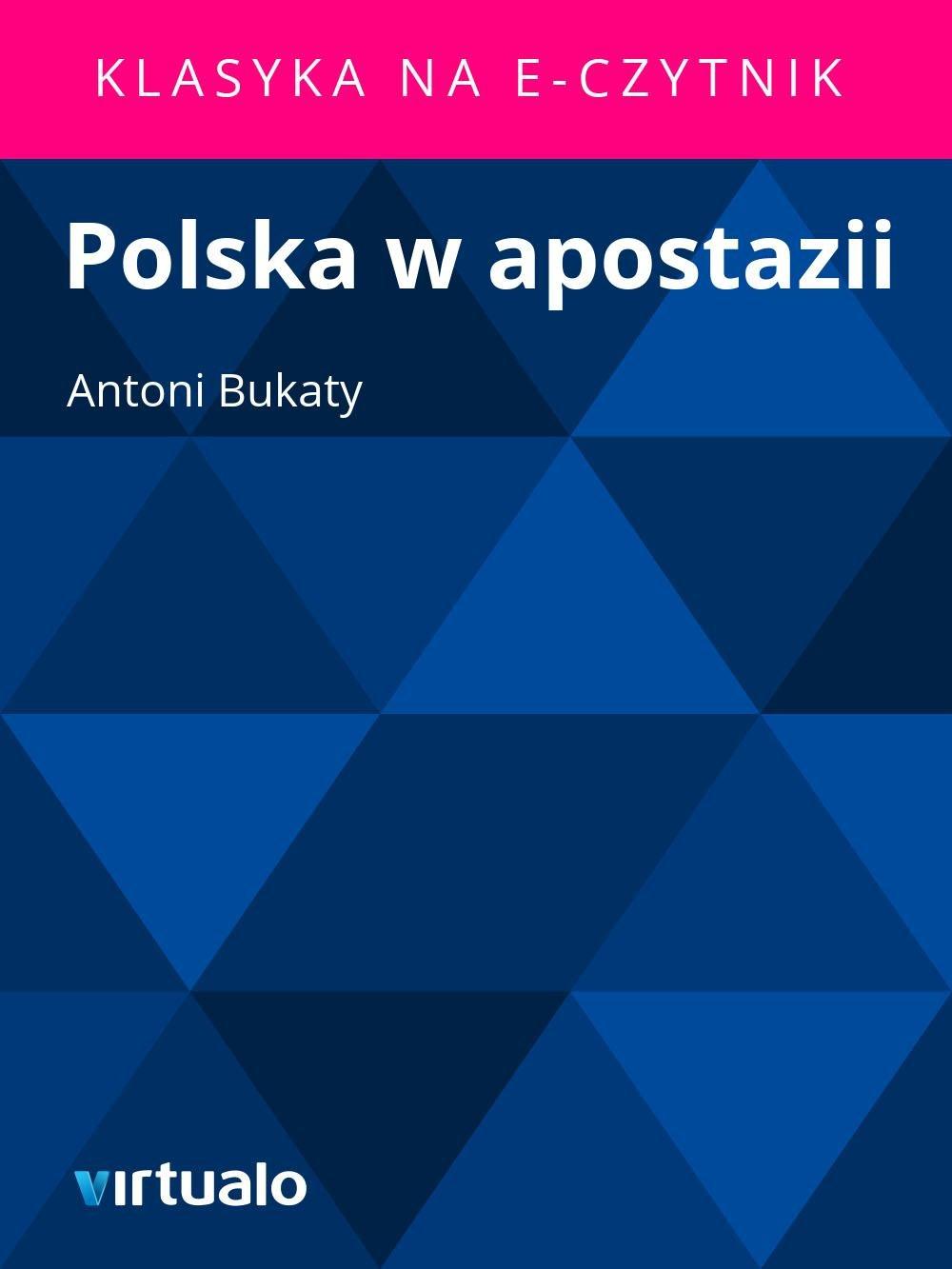 Polska w apostazii - Ebook (Książka EPUB) do pobrania w formacie EPUB