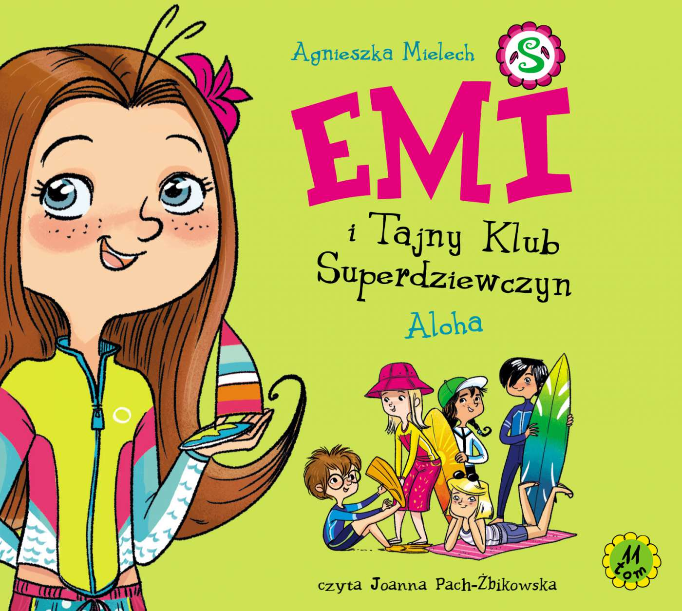 Emi i Tajny Klub Superdziewczyn. Tom 11. Aloha - Audiobook (Książka audio MP3) do pobrania w całości w archiwum ZIP