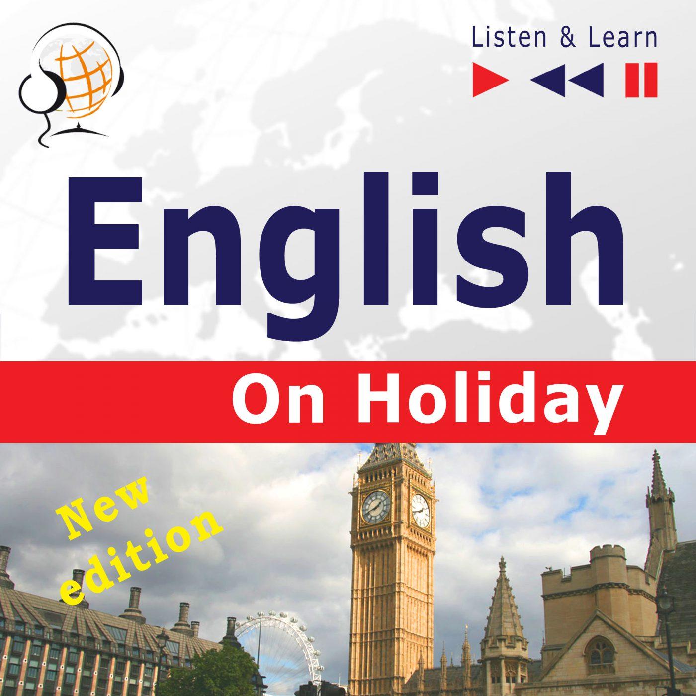 English on Holiday – New edition (Proficiency level: B1-B2) - Audiobook (Książka audio MP3) do pobrania w całości w archiwum ZIP