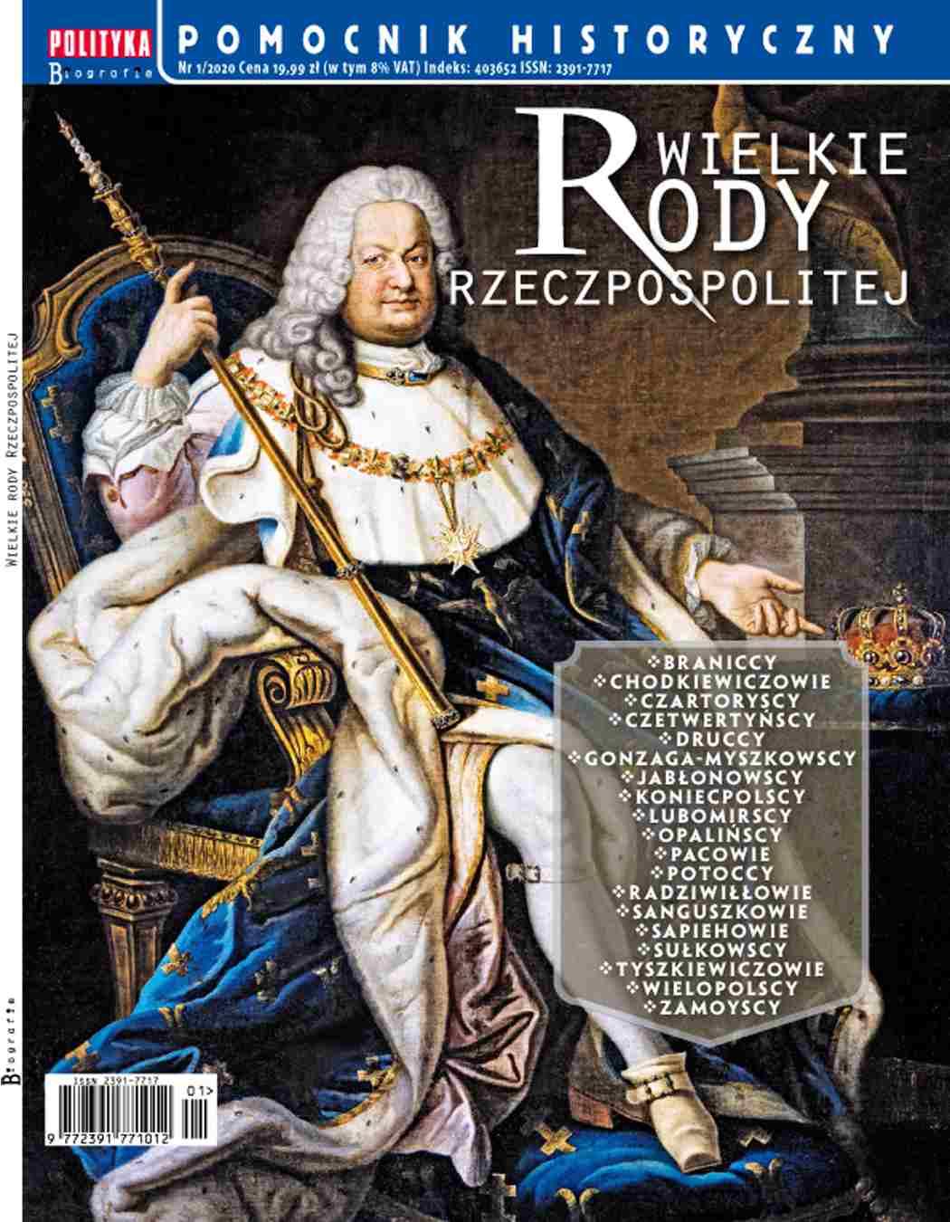 Pomocnik Historyczny. Wielkie rody Rzeczpospolitej 1/2020 - Ebook (Książka PDF) do pobrania w formacie PDF