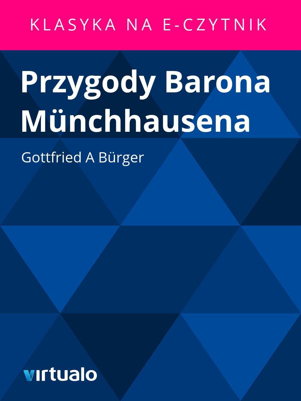 Przygody Barona Münchhausena - Ebook (Książka EPUB) do pobrania w formacie EPUB