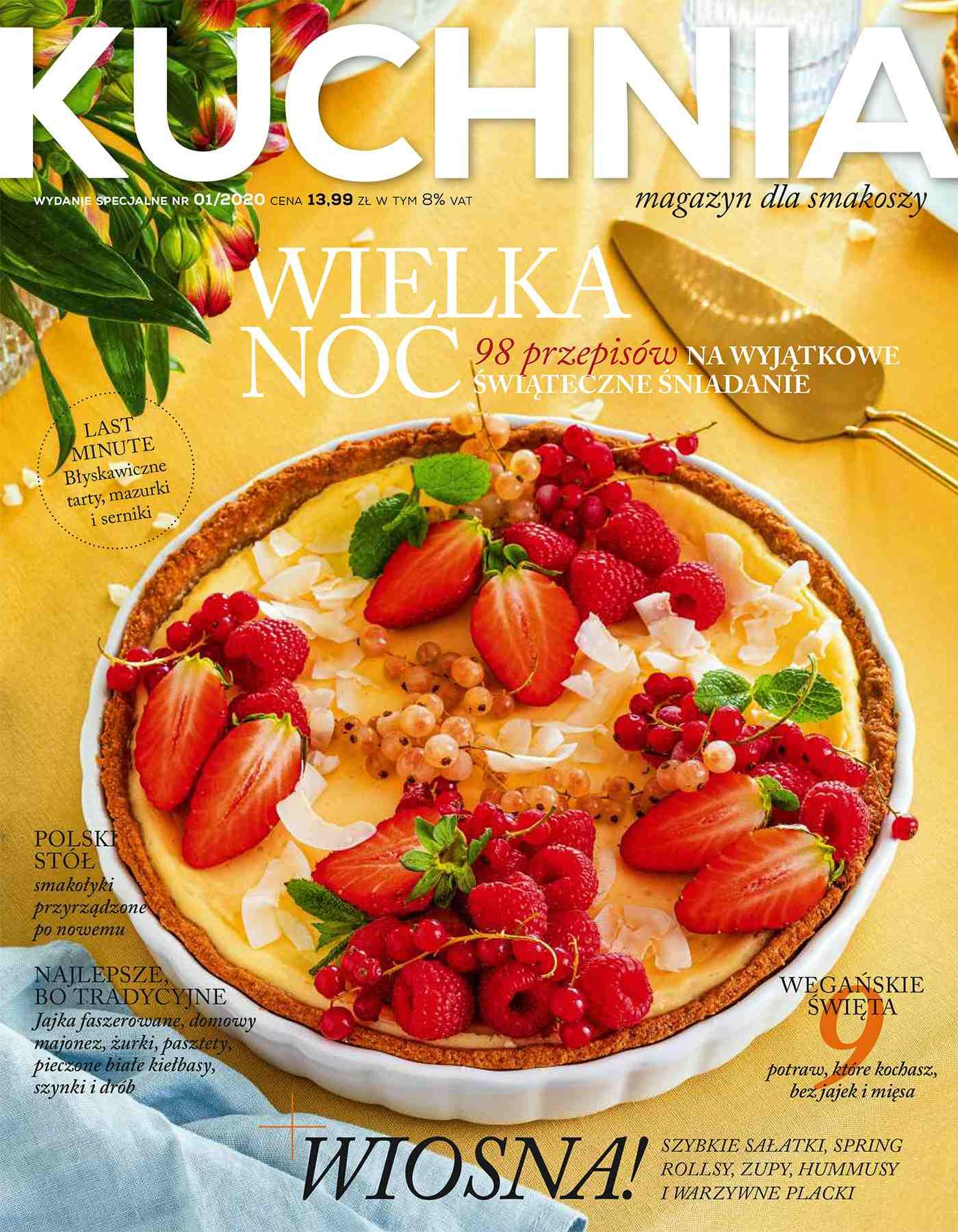 Kuchnia. Magazyn dla smakoszy 1/2020 Wielkanoc. Wydanie Specjalne - Ebook (Książka PDF) do pobrania w formacie PDF