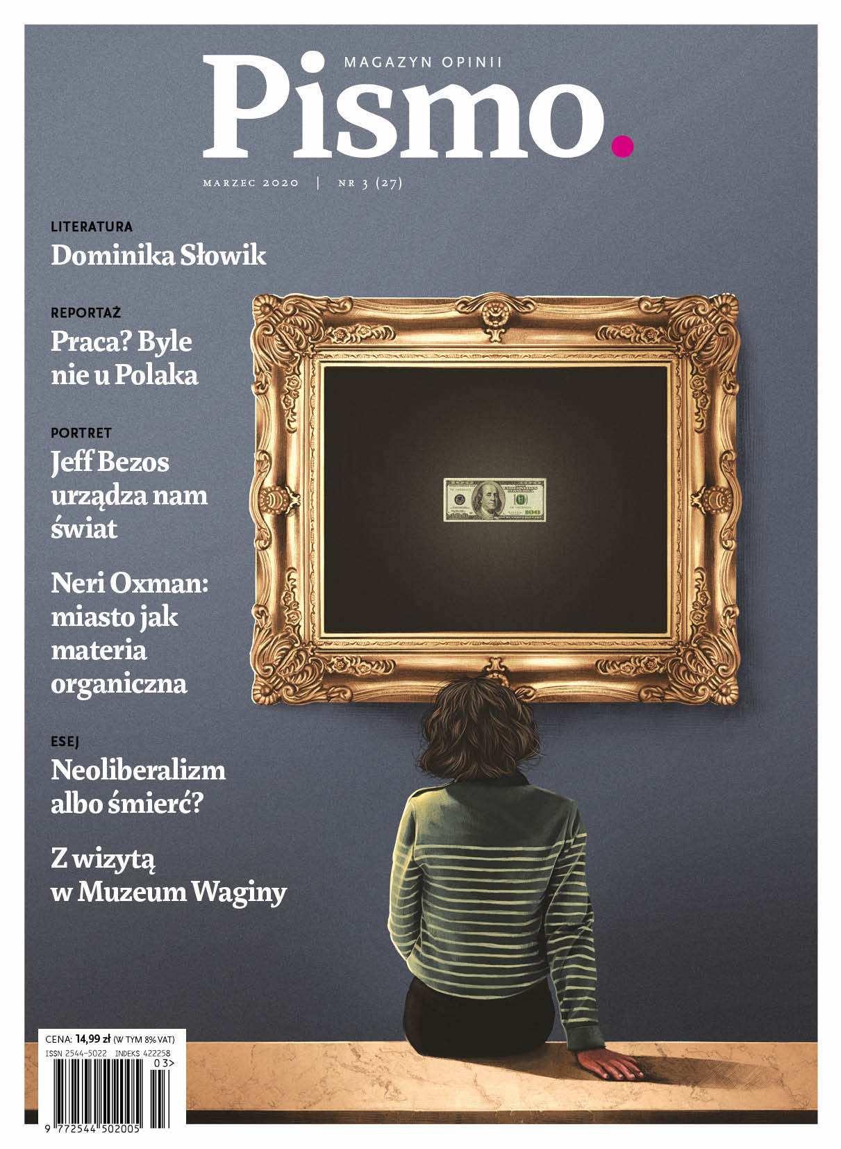Pismo. Magazyn Opinii 03/2020 - Audiobook (Książka audio MP3) do pobrania w całości w archiwum ZIP
