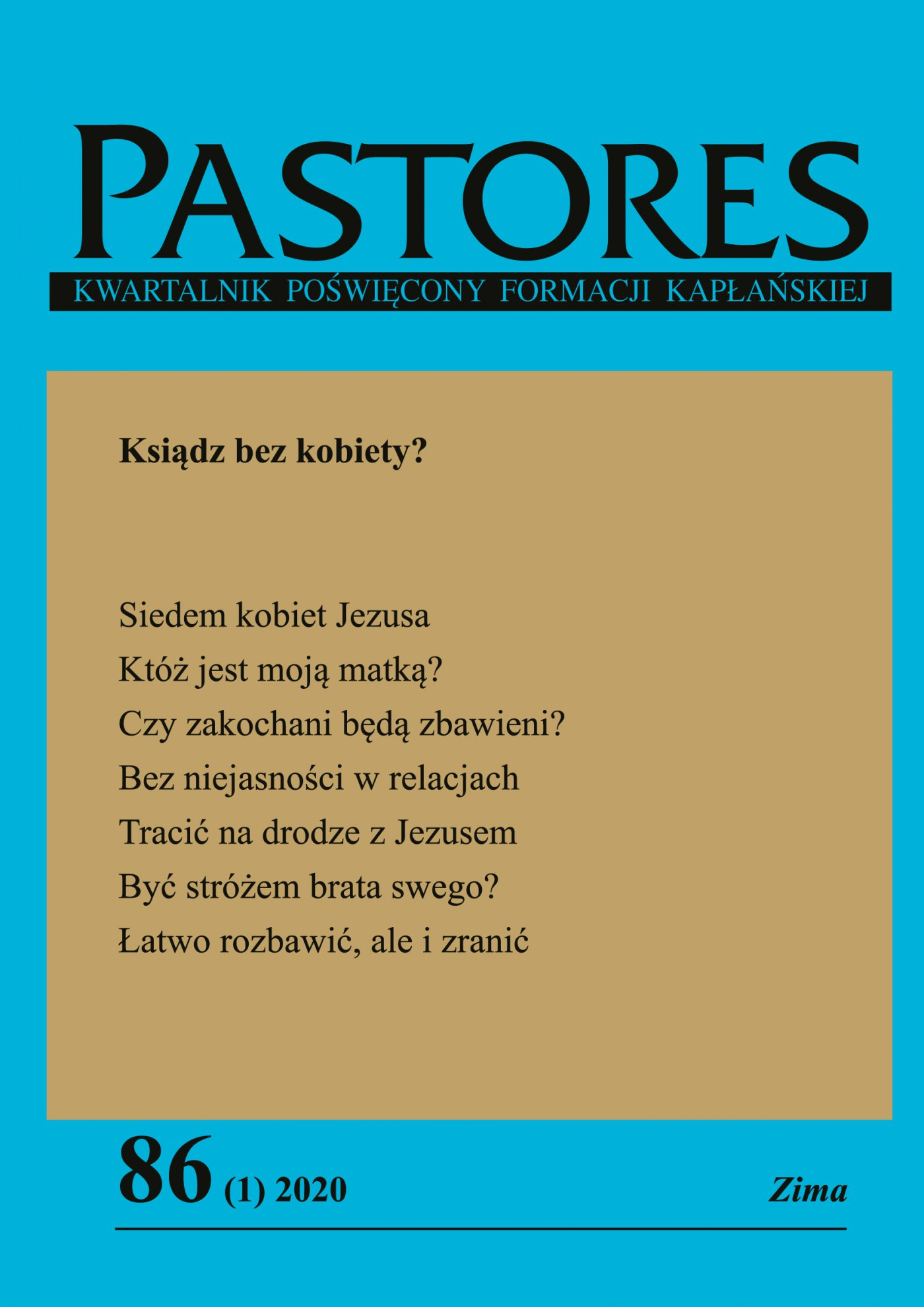 Pastores 86 (1) 2020 - Ebook (Książka EPUB) do pobrania w formacie EPUB