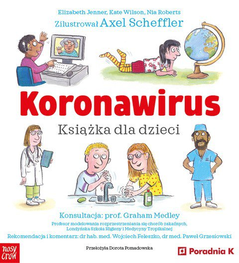 Koronawirus. Książka dla dzieci - Ebook (Książka EPUB) do pobrania w formacie EPUB