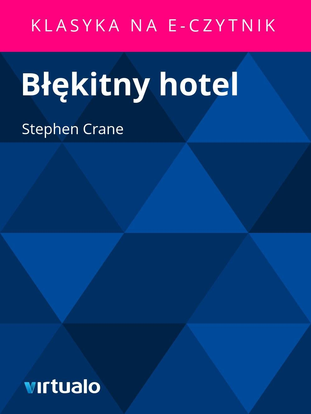 Błękitny hotel - Ebook (Książka EPUB) do pobrania w formacie EPUB