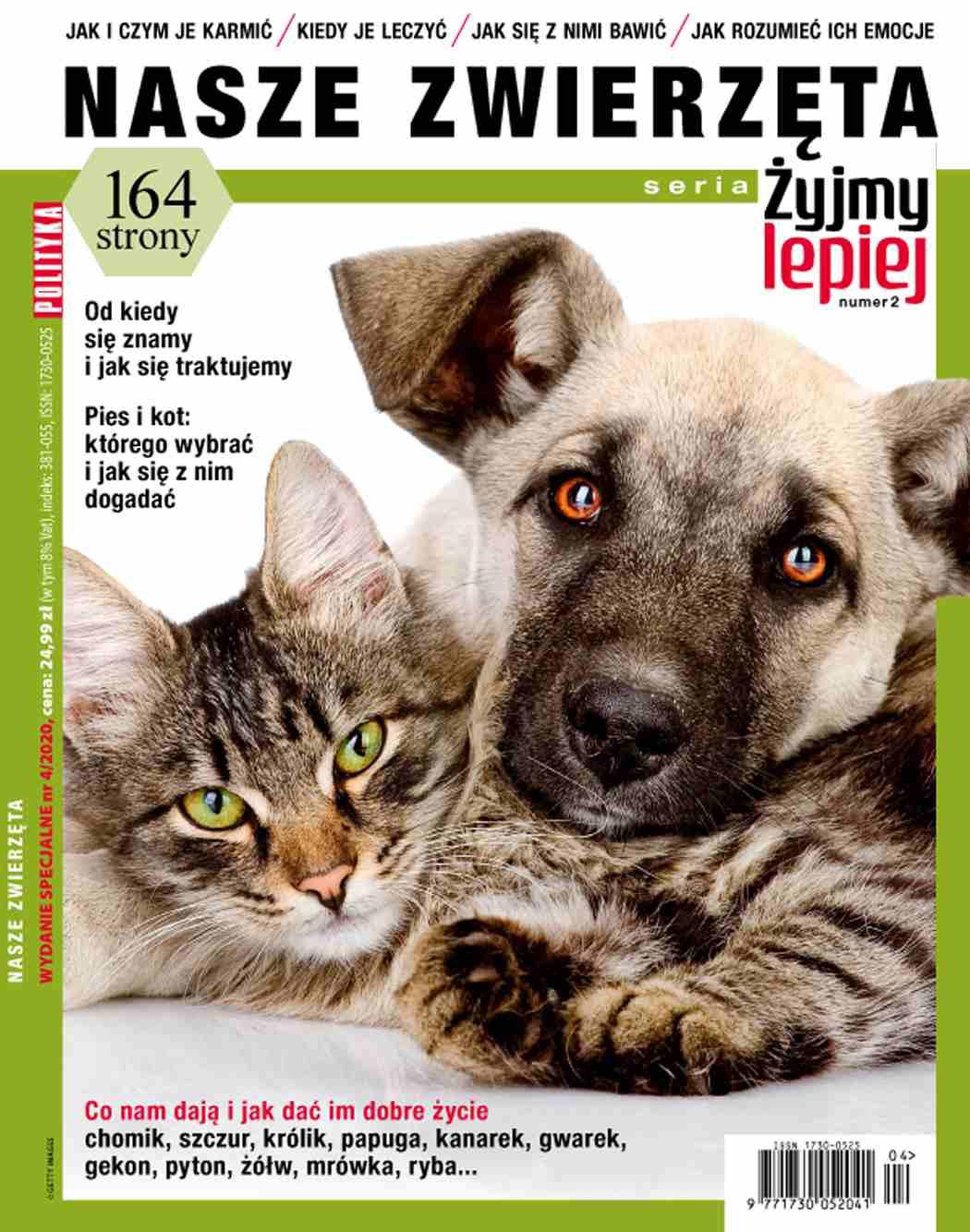 Żyjmy lepiej. Nasze zwierzęta - Ebook (Książka PDF) do pobrania w formacie PDF