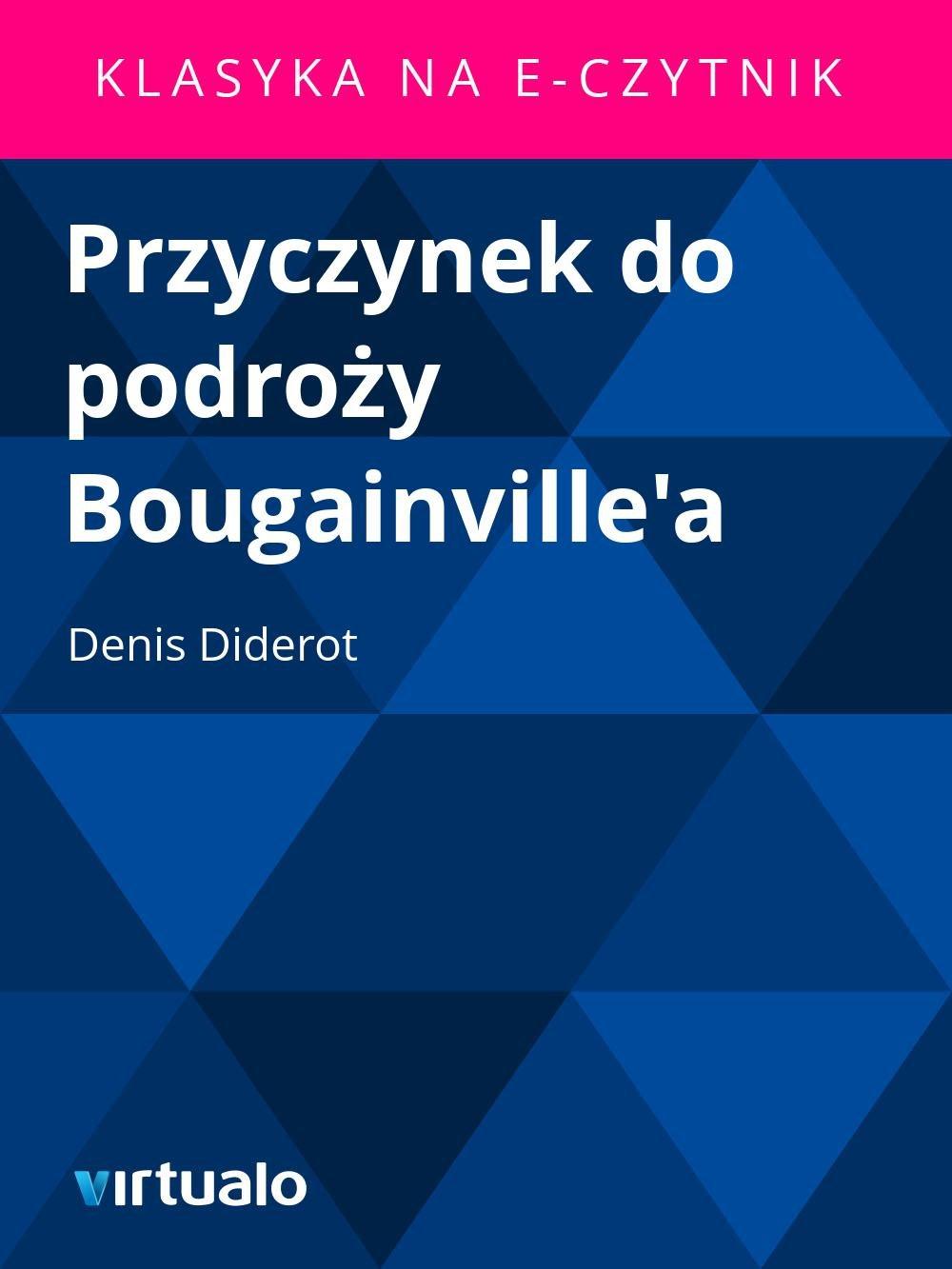 Przyczynek do podroży Bougainville'a - Ebook (Książka EPUB) do pobrania w formacie EPUB