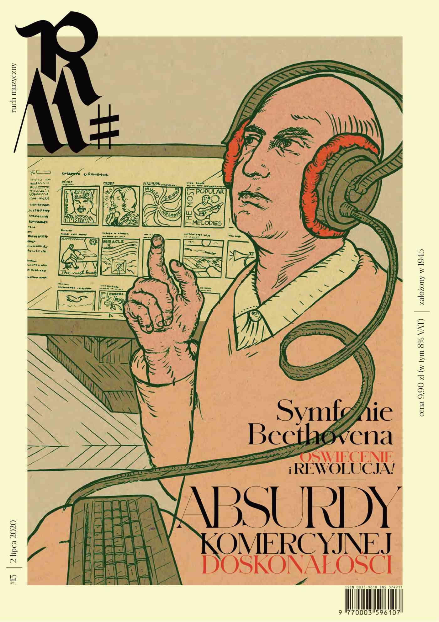 Ruch Muzyczny nr 13/2020 - Ebook (Książka PDF) do pobrania w formacie PDF