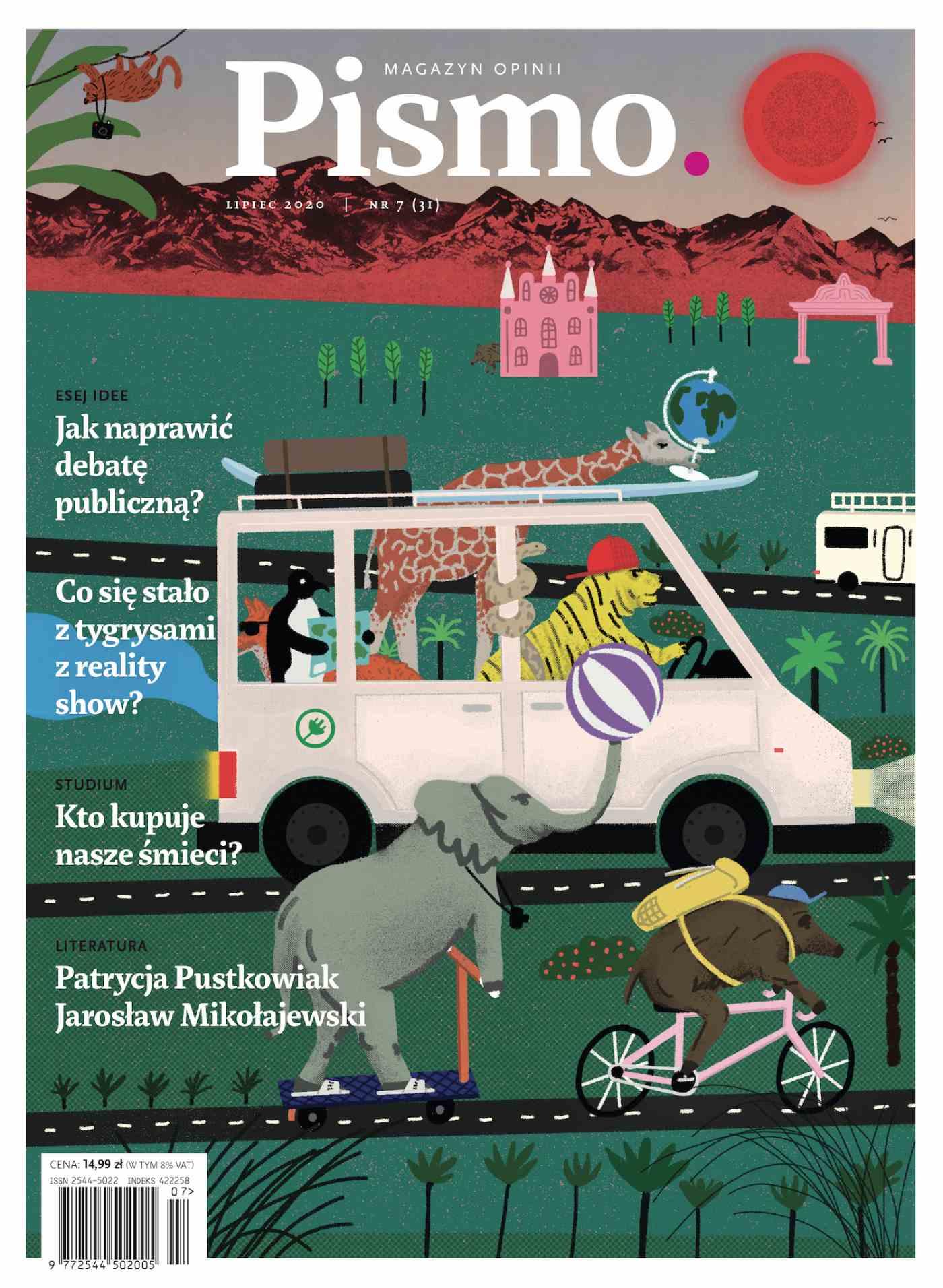 Pismo. Magazyn Opinii 07/2020 - Audiobook (Książka audio MP3) do pobrania w całości w archiwum ZIP