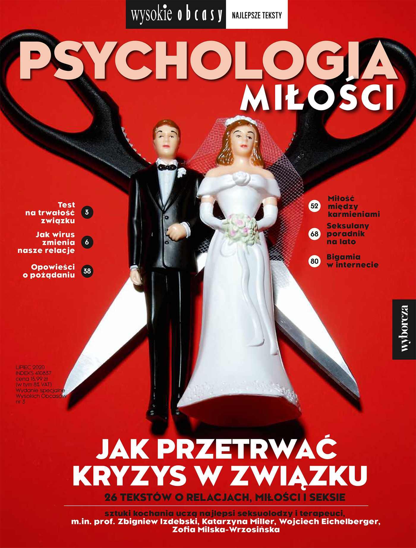 Psychologia miłości. Wysokie Obcasy. Wydanie Specjalne 3/2020 - Ebook (Książka EPUB) do pobrania w formacie EPUB