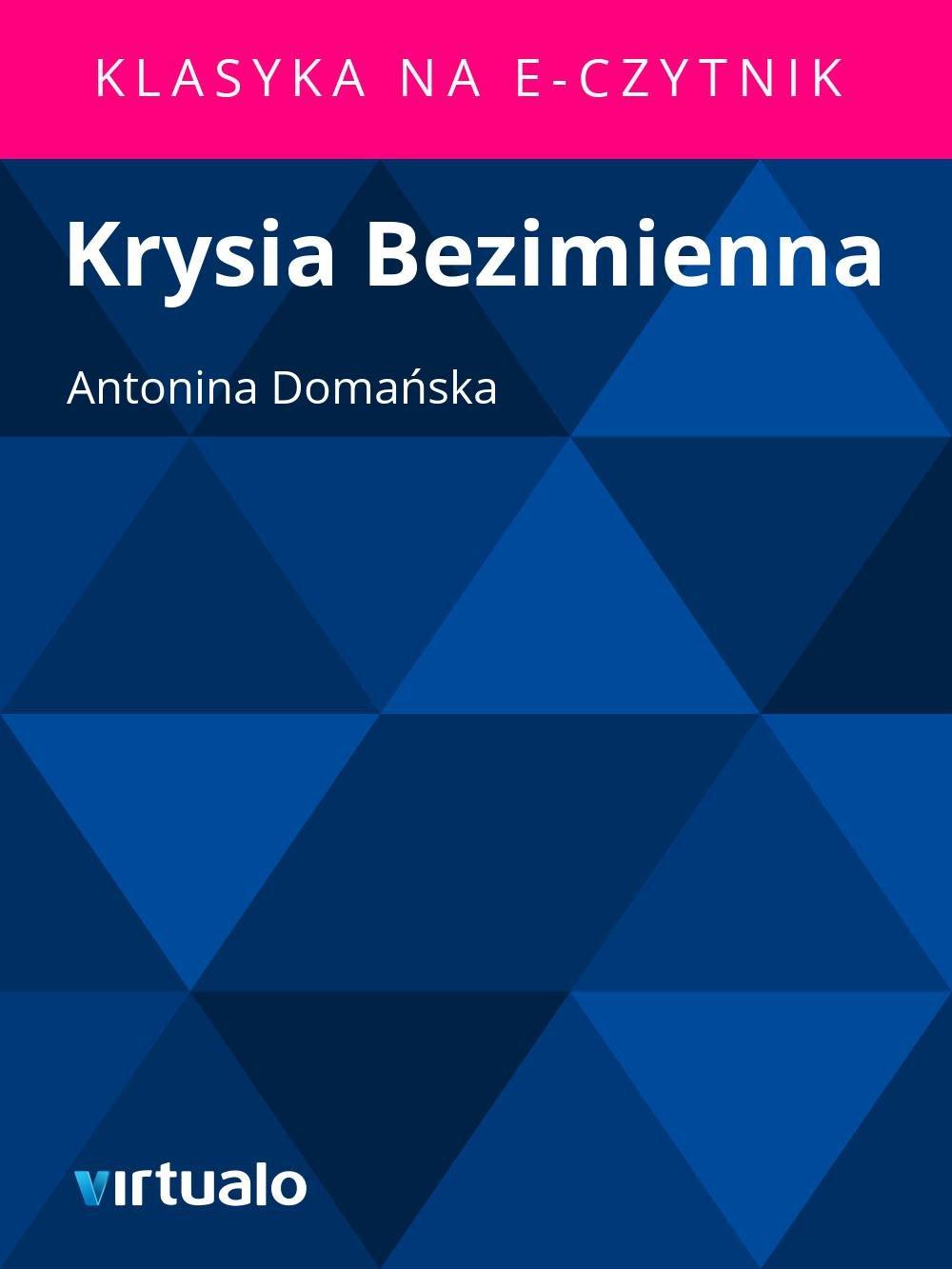 Krysia Bezimienna - Ebook (Książka EPUB) do pobrania w formacie EPUB