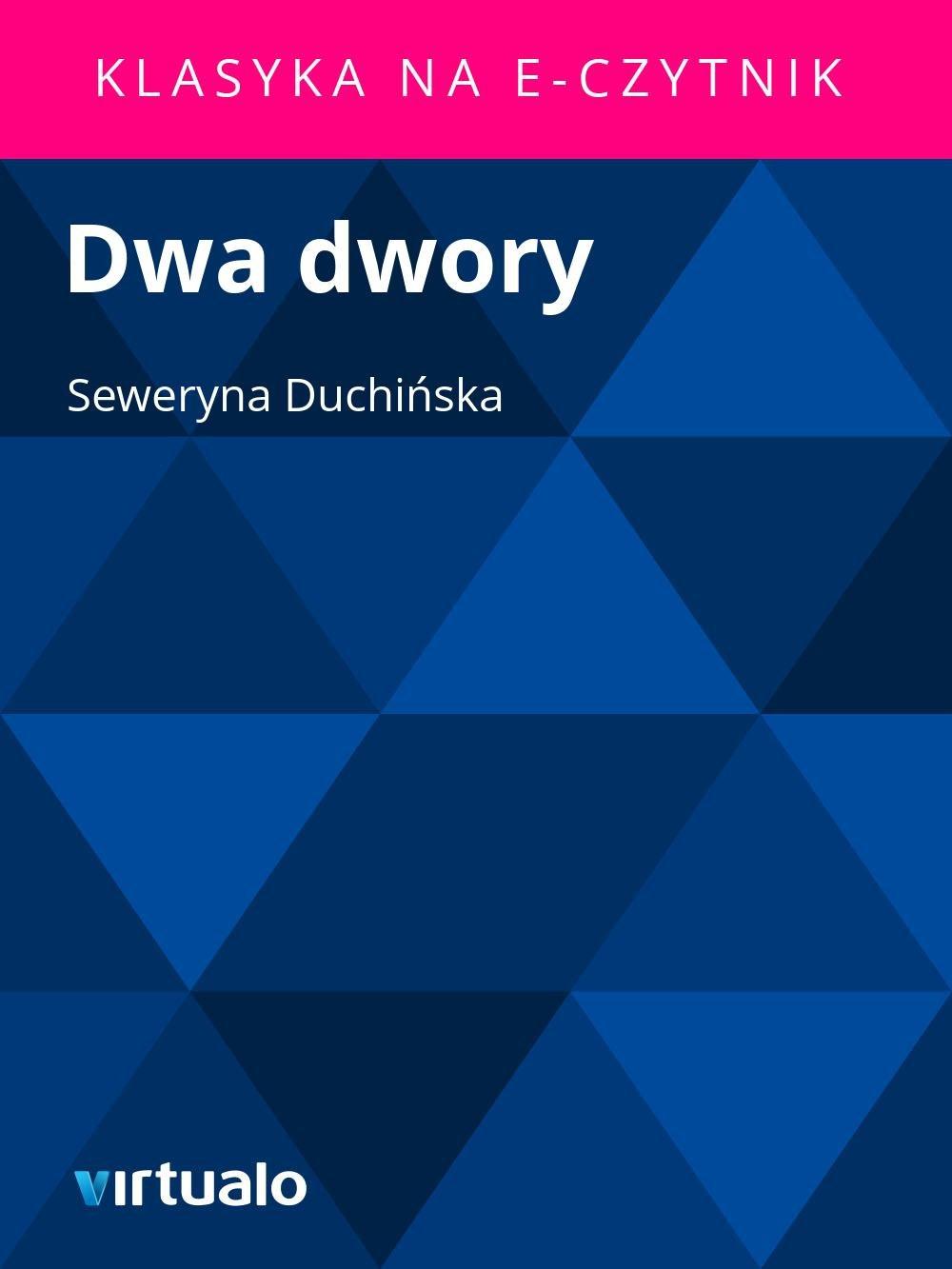 Dwa dwory - Ebook (Książka EPUB) do pobrania w formacie EPUB