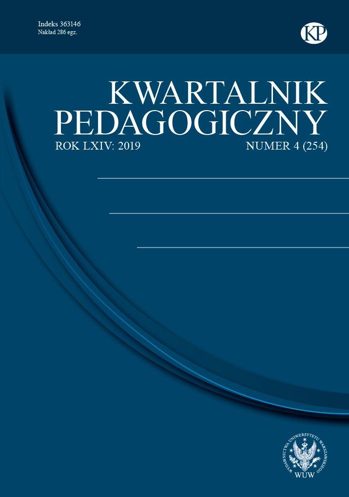Kwartalnik Pedagogiczny 2019/4 (254) - Ebook (Książka PDF) do pobrania w formacie PDF