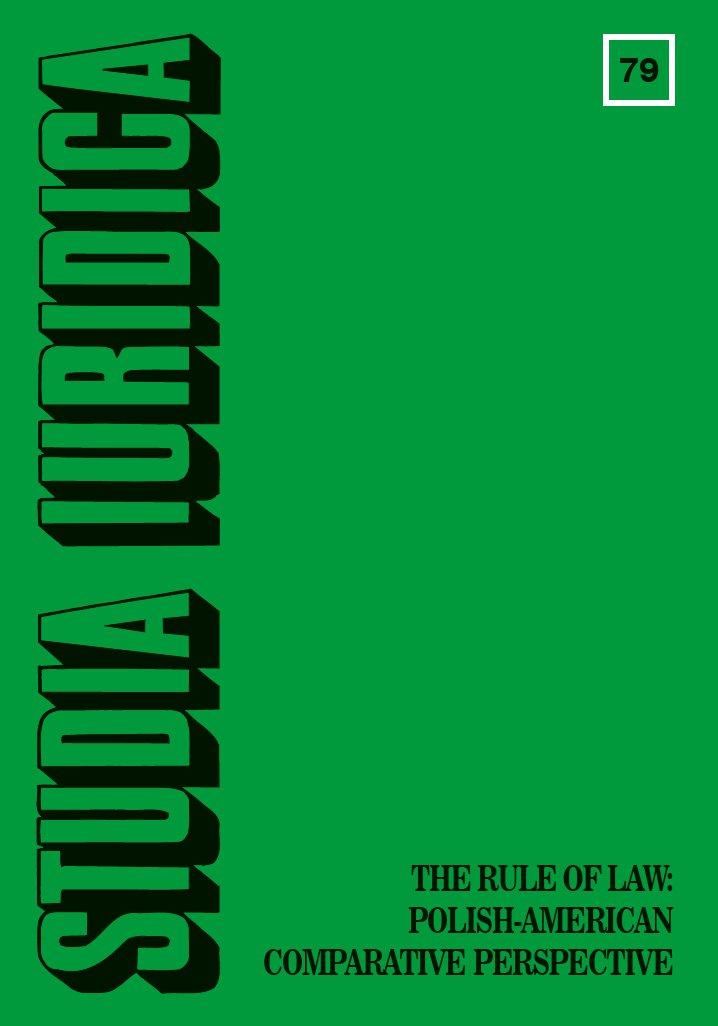 Studia Iuridica, nr 79 - Ebook (Książka PDF) do pobrania w formacie PDF