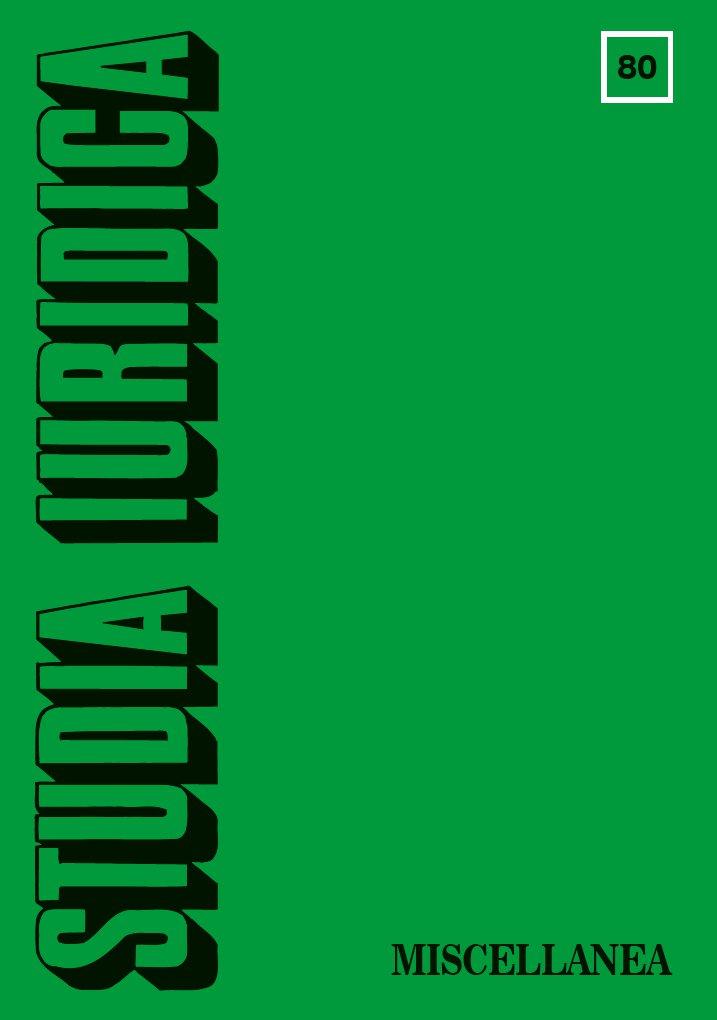 Studia Iuridica, nr 80 - Ebook (Książka PDF) do pobrania w formacie PDF