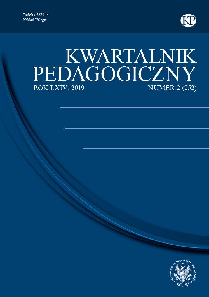 Kwartalnik Pedagogiczny 2019/2 (252) - Ebook (Książka PDF) do pobrania w formacie PDF