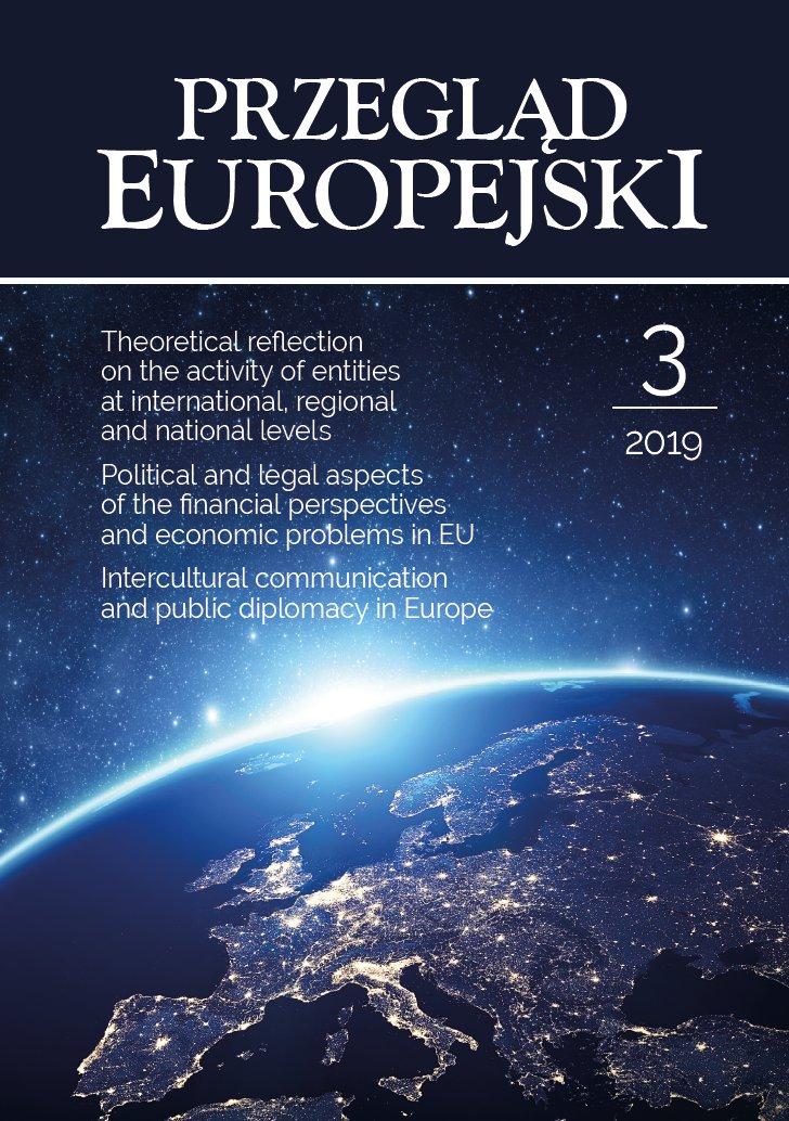 Przegląd Europejski 2019/3 - Ebook (Książka PDF) do pobrania w formacie PDF