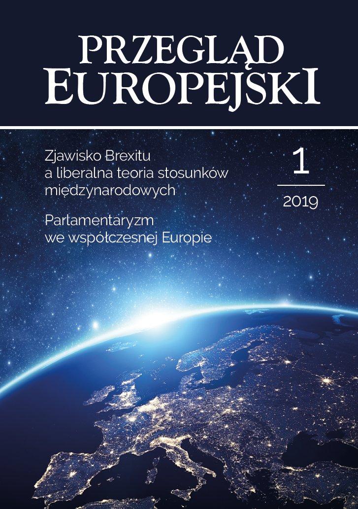 Przegląd Europejski 2019/1 - Ebook (Książka PDF) do pobrania w formacie PDF