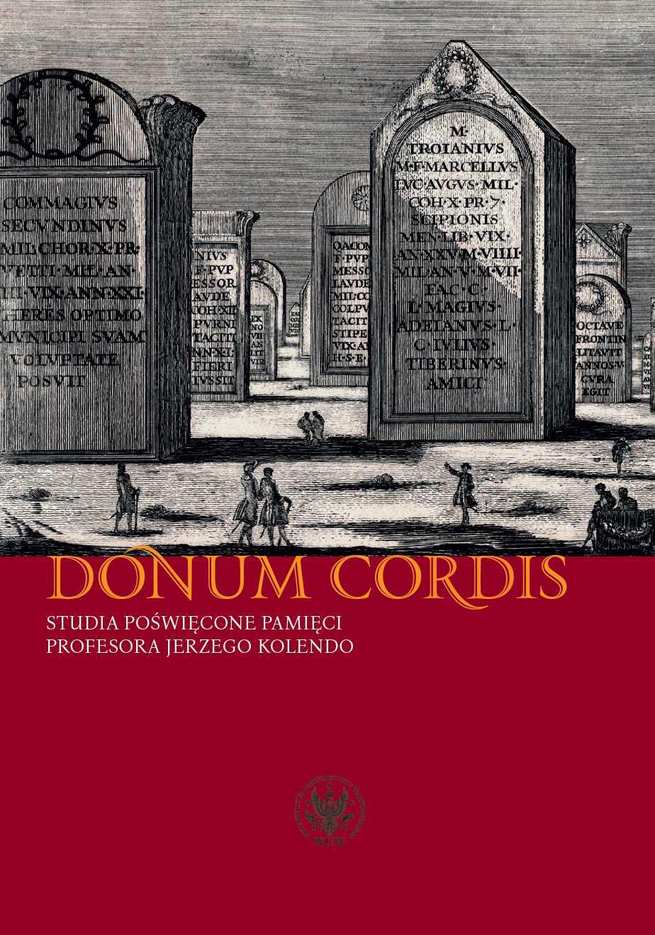 Donum cordis - Ebook (Książka na Kindle) do pobrania w formacie MOBI