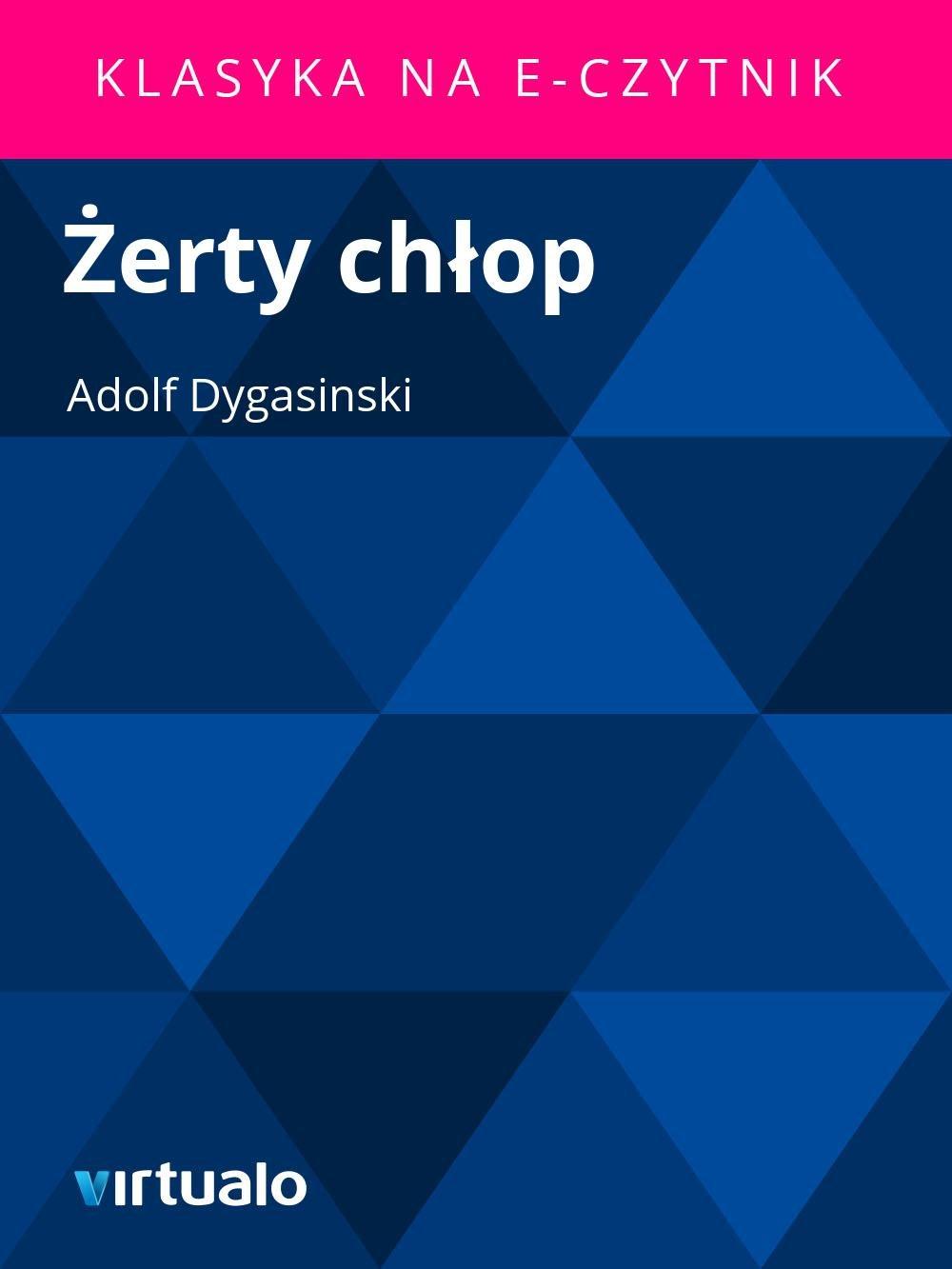 Żerty chłop - Ebook (Książka EPUB) do pobrania w formacie EPUB