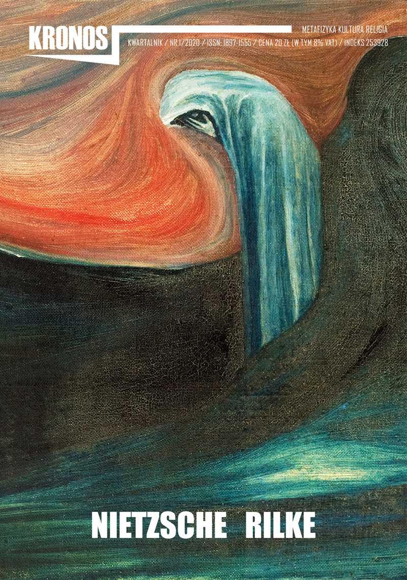 Kronos 1/2020. Nietzsche. Rilke - Ebook (Książka na Kindle) do pobrania w formacie MOBI