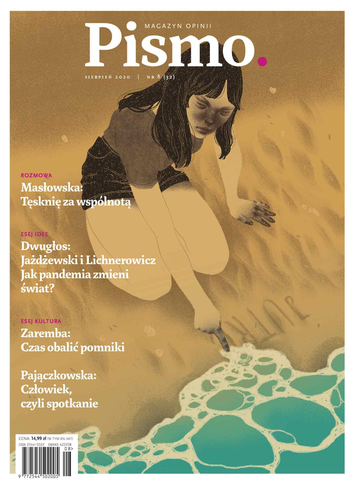 Pismo. Magazyn Opinii 08/2020 - Ebook (Książka EPUB) do pobrania w formacie EPUB