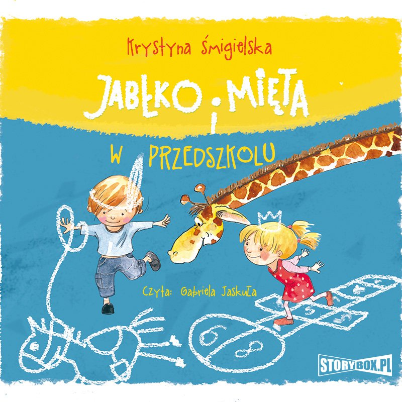 Jabłko i Mięta w przedszkolu - Audiobook (Książka audio MP3) do pobrania w całości w archiwum ZIP