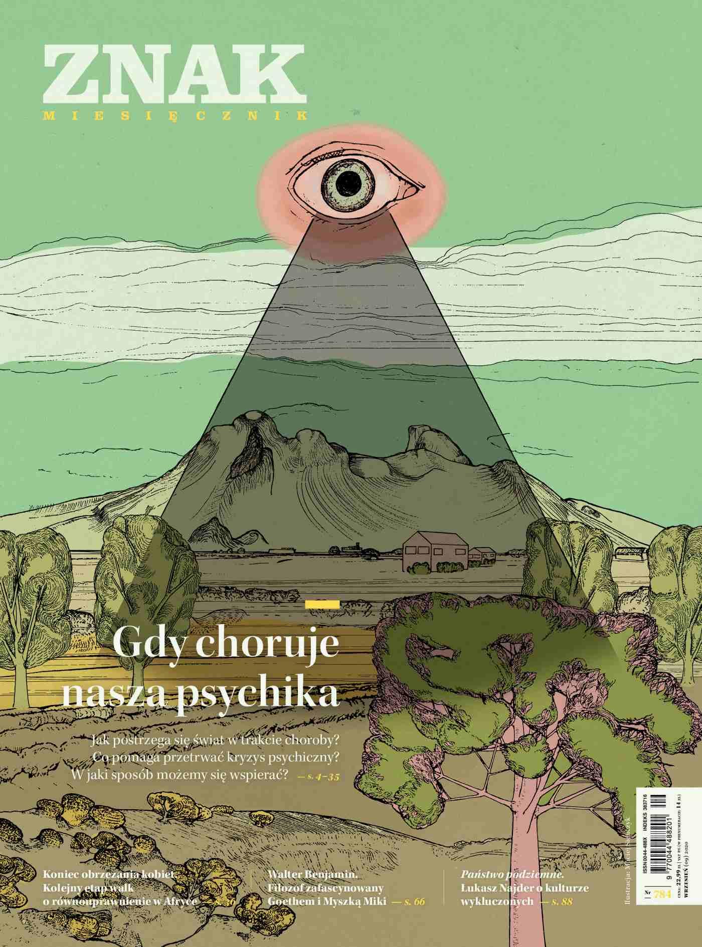 Miesięcznik Znak nr 784: Gdy choruje nasza psychika - Ebook (Książka na Kindle) do pobrania w formacie MOBI
