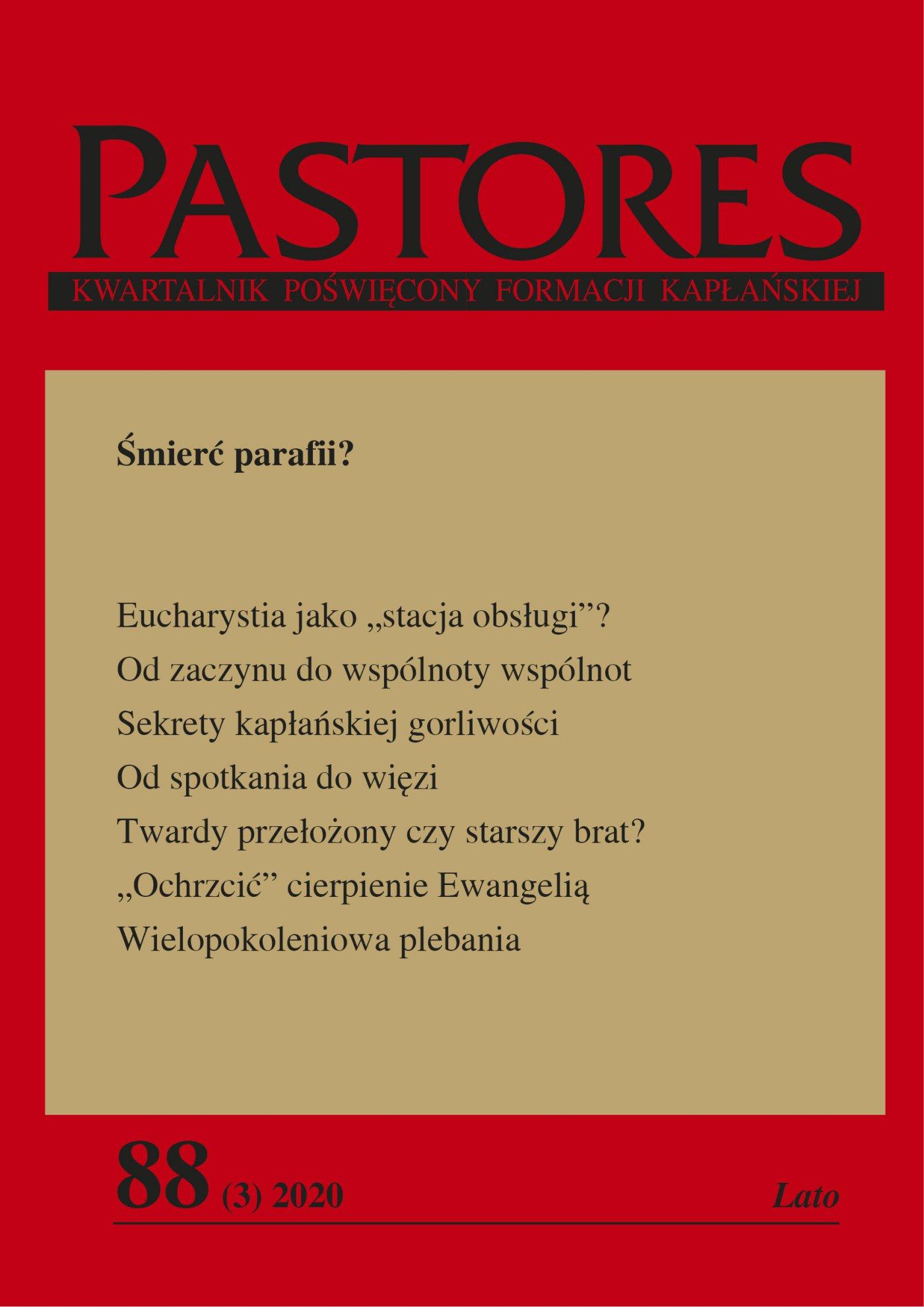 Pastores 88 (3) 2020 - Ebook (Książka EPUB) do pobrania w formacie EPUB