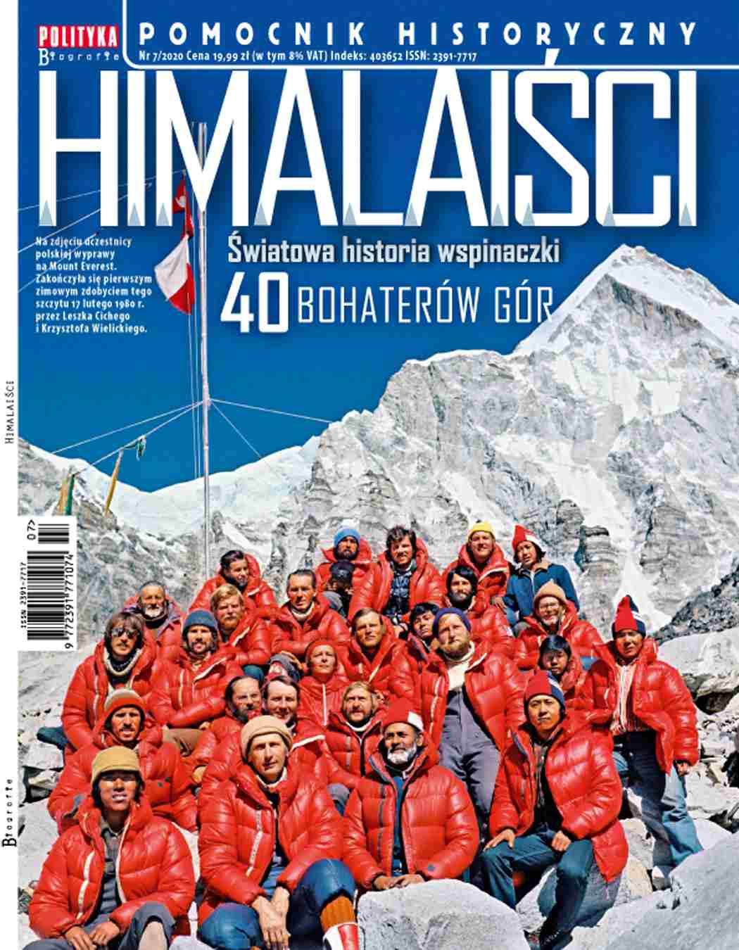 Pomocnik Historyczny. Himalaiści 7/2020 - Ebook (Książka PDF) do pobrania w formacie PDF