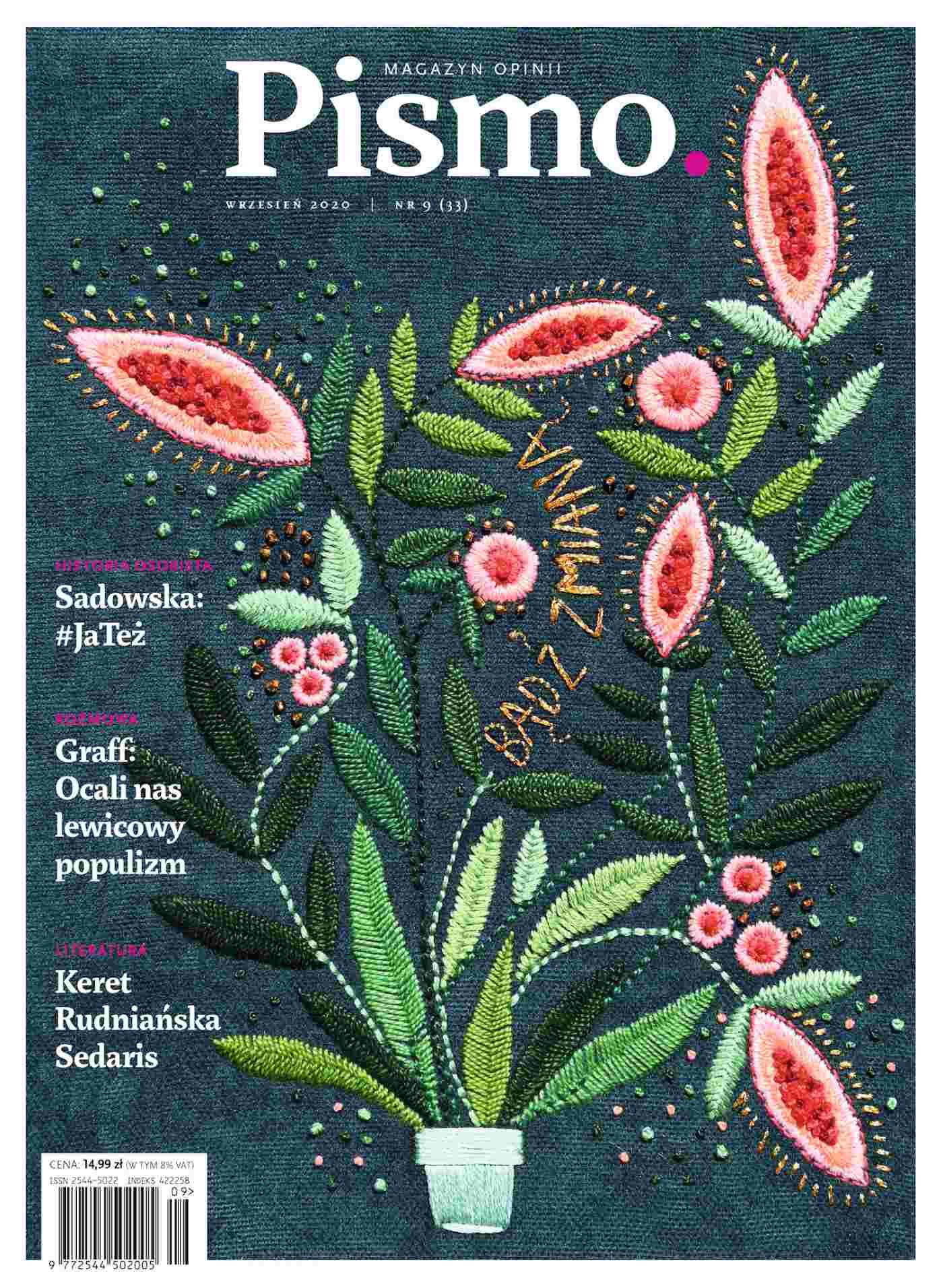 Pismo. Magazyn Opinii 09/2020 - Audiobook (Książka audio MP3) do pobrania w całości w archiwum ZIP
