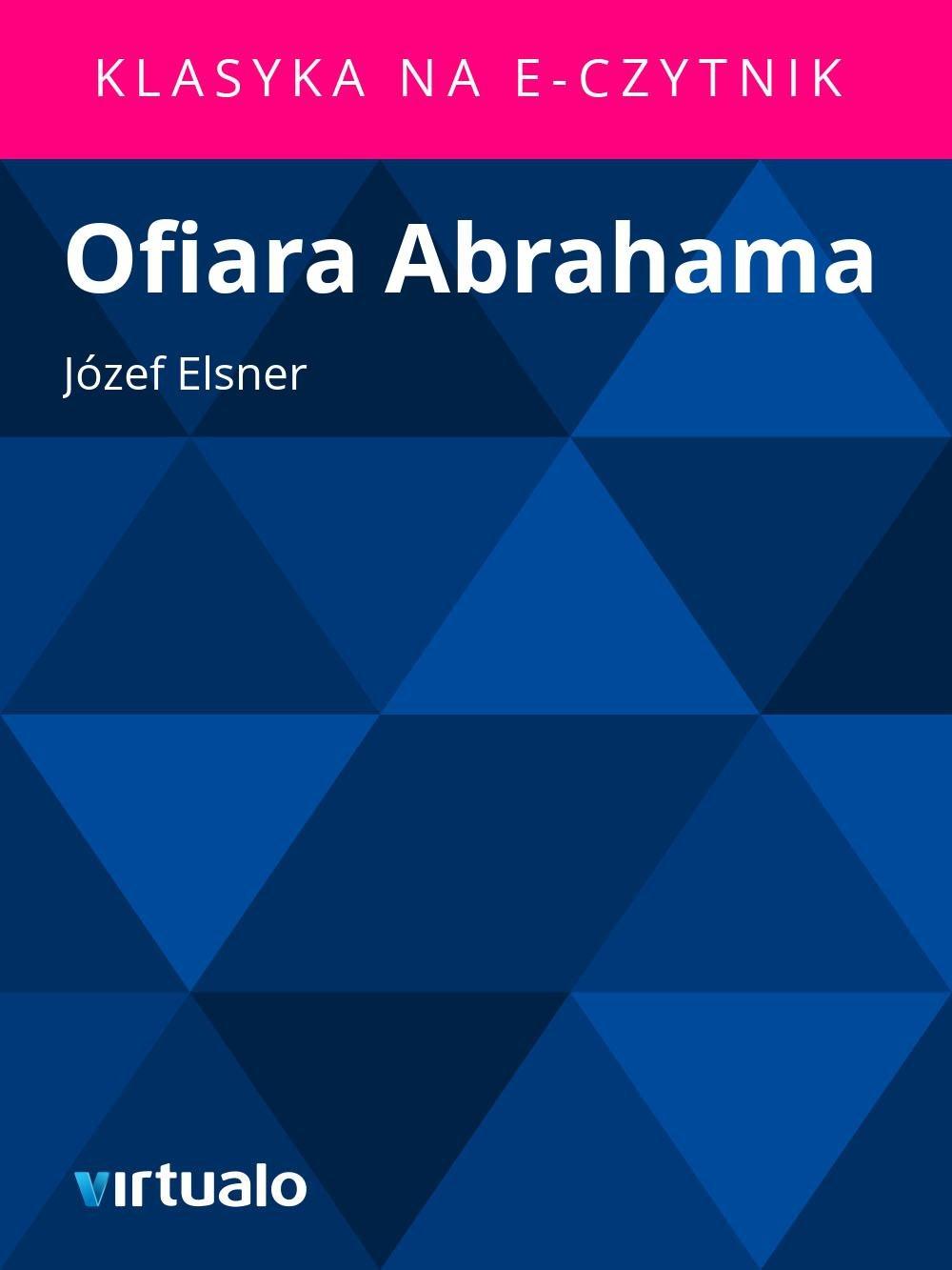 Ofiara Abrahama - Ebook (Książka EPUB) do pobrania w formacie EPUB