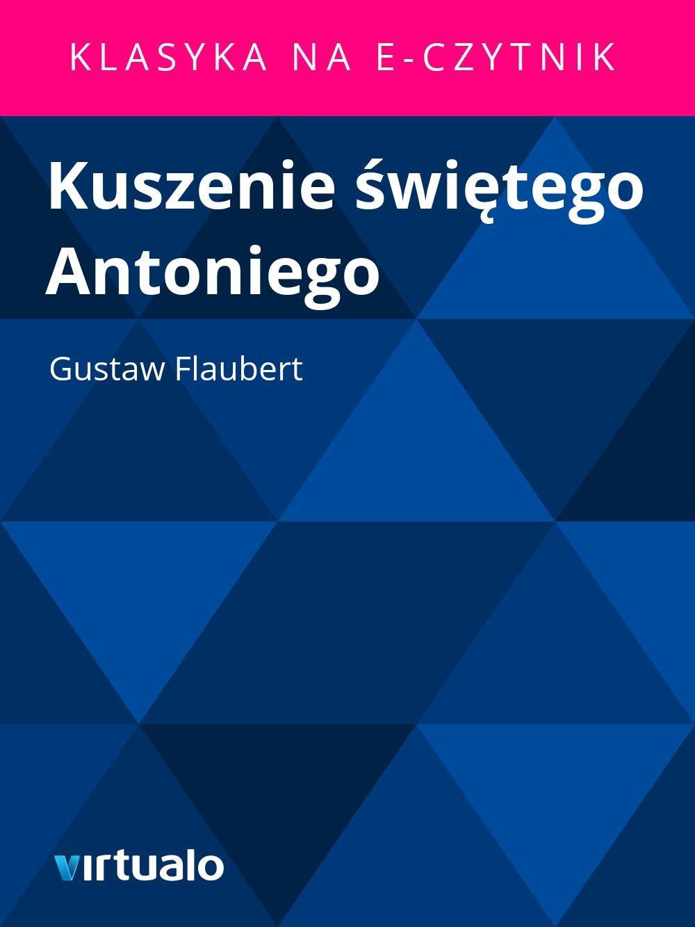 Kuszenie świętego Antoniego - Ebook (Książka EPUB) do pobrania w formacie EPUB