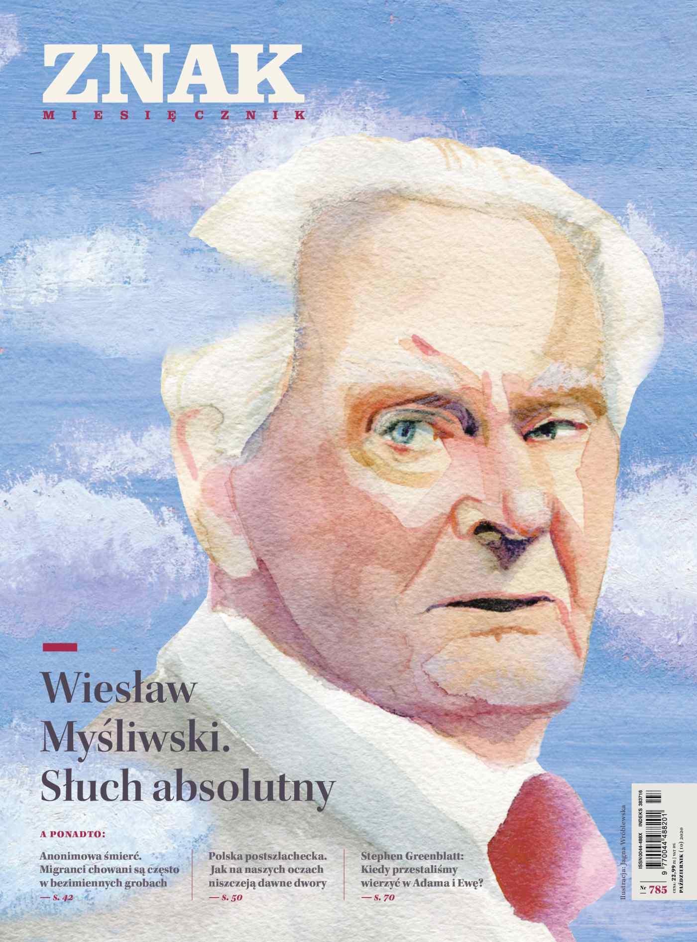 Miesięcznik Znak nr 785: Wiesław Myśliwski. Słuch absolutny - Ebook (Książka EPUB) do pobrania w formacie EPUB