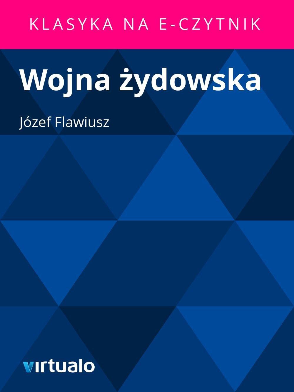 Wojna żydowska - Ebook (Książka EPUB) do pobrania w formacie EPUB