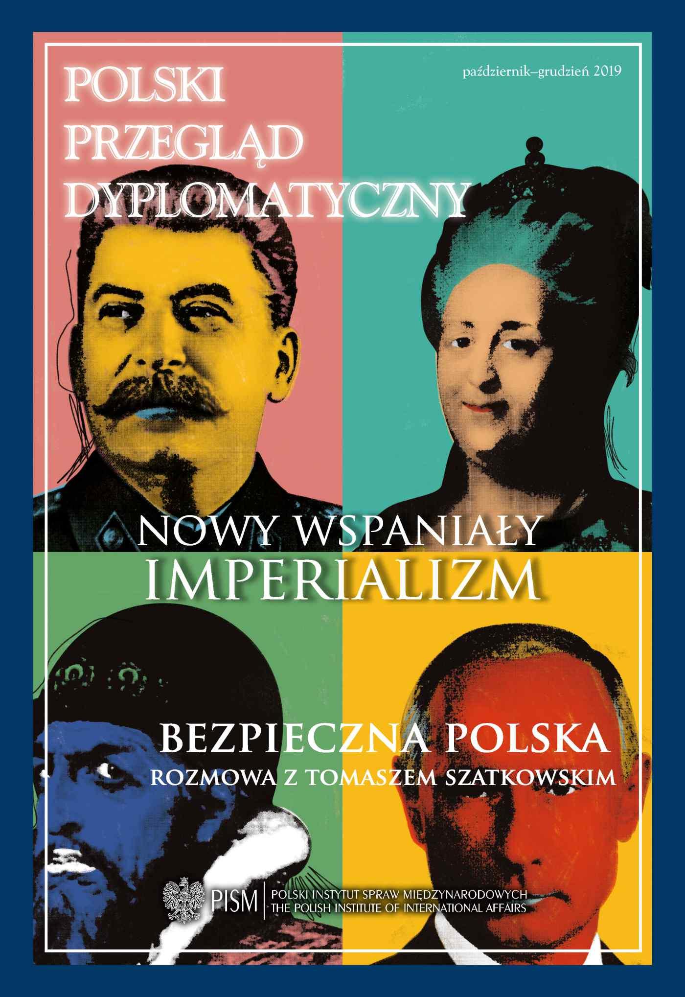 Polski Przegląd Dyplomatyczny, nr 4 / 2019 - Ebook (Książka PDF) do pobrania w formacie PDF