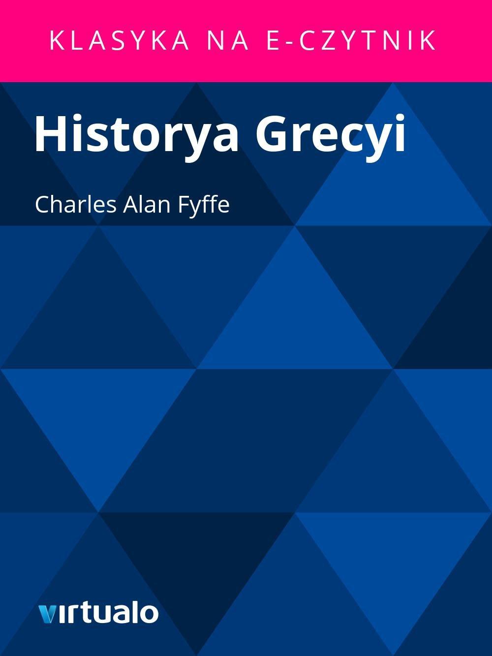 Historya Grecyi - Ebook (Książka EPUB) do pobrania w formacie EPUB