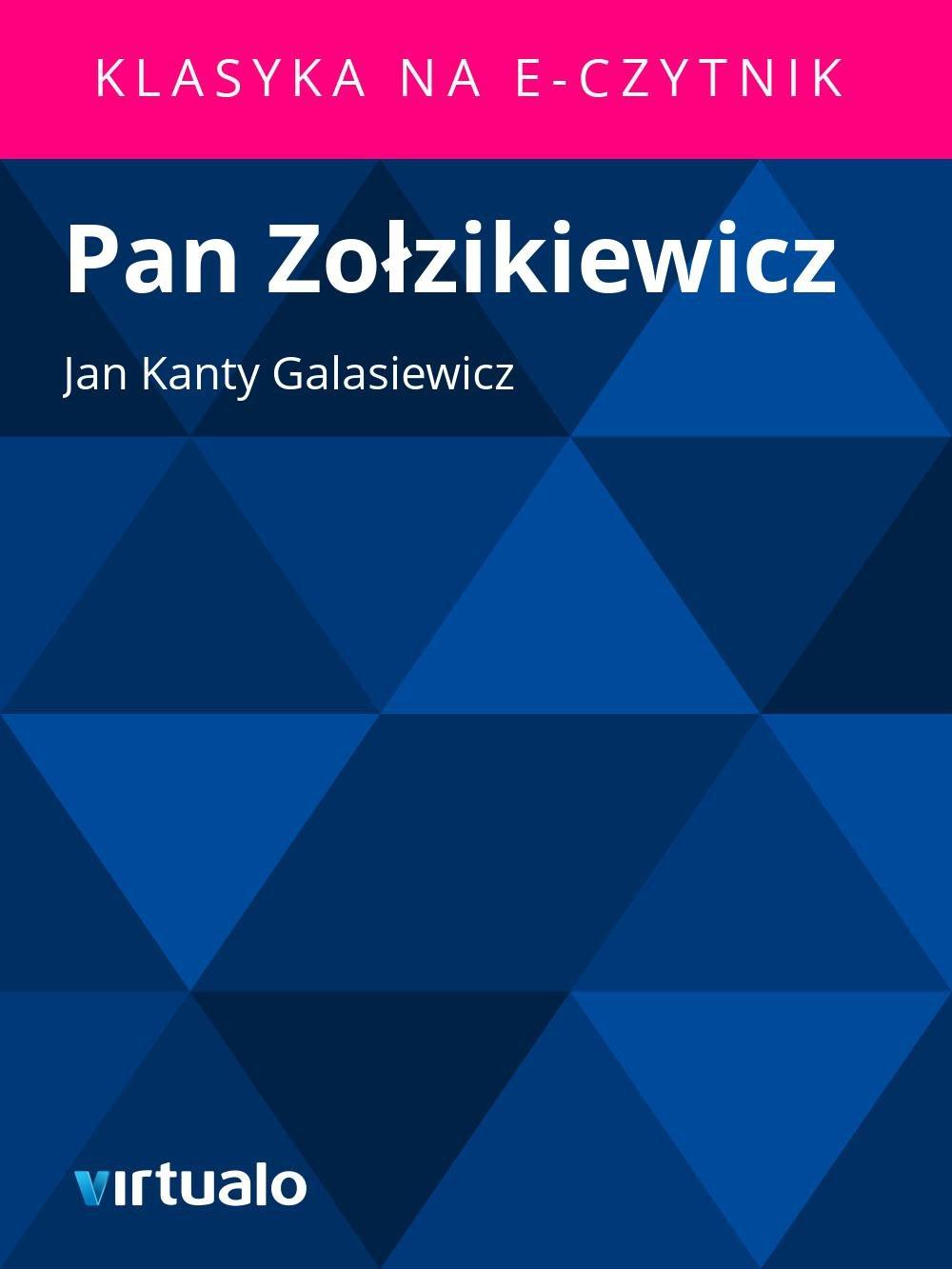 Pan Zołzikiewicz - Ebook (Książka EPUB) do pobrania w formacie EPUB