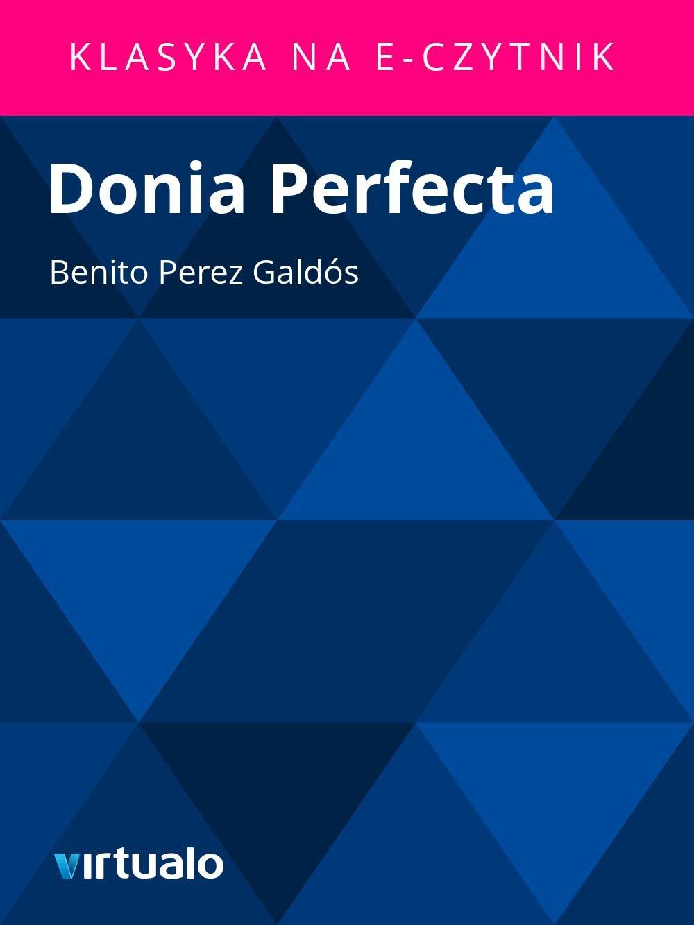 Donia Perfecta - Ebook (Książka EPUB) do pobrania w formacie EPUB