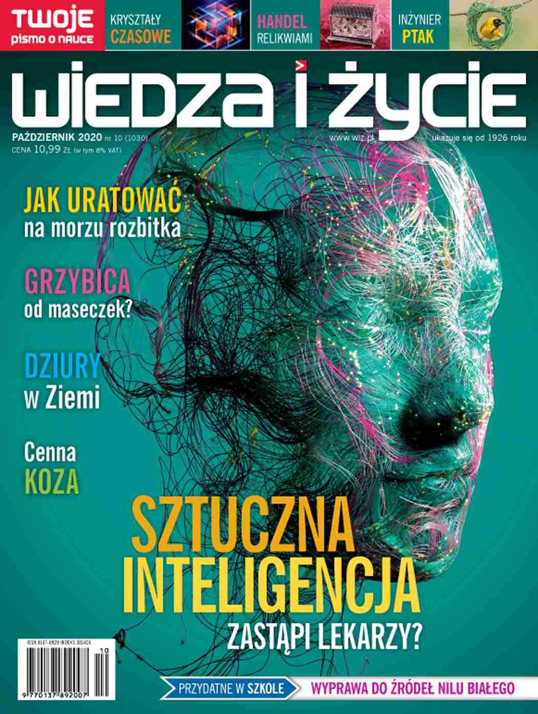 Wiedza i Życie nr 10/2020 - Ebook (Książka PDF) do pobrania w formacie PDF